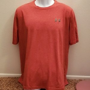 Under Armour Heatgear Loose Large Red/Orange Shirt